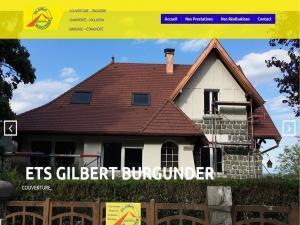 Création et mise en ligne d'un nouveau site Internet pour mon client les ETS Gilbert Burgunder situé au 11 Rue de la croix à 68820 Kruth et spécialisé depuis 1949 dans les travaux de toitures telles que la couverture, zinguerie, charpente, bardage, isolation et étanchéité.