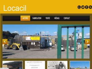 Création site Internet pour sols equestres Locacil à 68540 Feldkirch