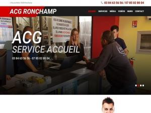 Création et mise en ligne d'un nouveau site Internet vitrine pour mon client ACG Déconstructeur automobile, une auto-casse très attentive au recyclage avec des tarifs particulièrement attractifs pour les pièces d'occasion automobile et situé au 7, Rue du Rahin 70250 RONCHAMP entre Lure et Vesoul.