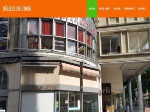 Création site Internet pour le restaurant Délices de L'Inde à 68200 Mulhouse