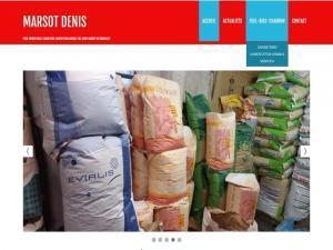 Création site Internet pour Alimentation animale, graineterie, fioul Denis Marsot 90200 Giromagny