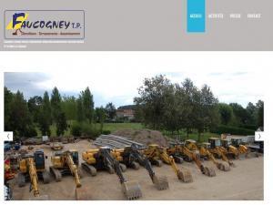 Création site Internet pour Faucogney Travaux Publics à 70160 Cubry les faverney