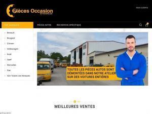 Création site e-commerce pour auto casse SVI 68120 Richwiller