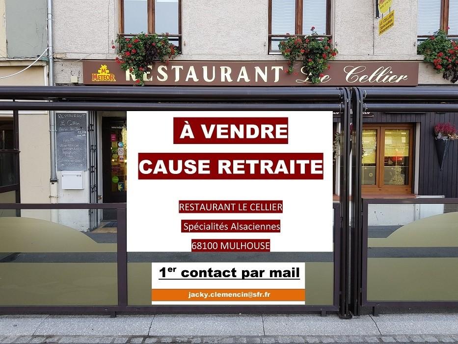 Montage vidéo pour optimiser une annonce de cession d'un fond de commerce en l'occurence pour le Restaurant Le Cellier à 68 Mulhouse
