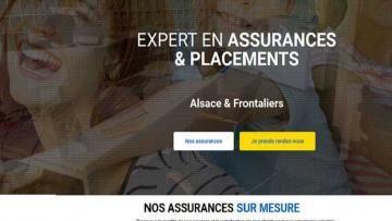 Un nouveau site Internet pour Assurances Jordan à Saint-Louis  68