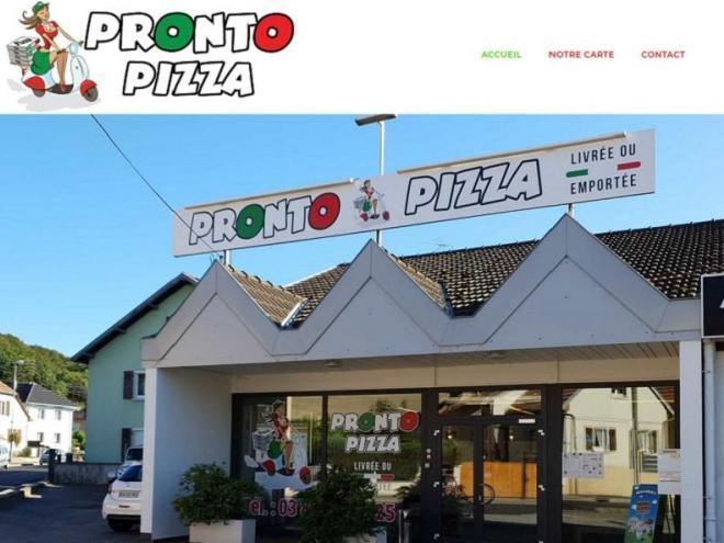 cR2ATION SITE iNTERNET pRONTO PIZZA 0 68 ILLFURTH - Pizzas à emportés et livrer dans la région d'Altkirch près de Mulhouse Brunstatt