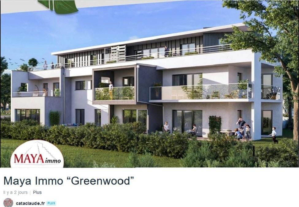 Une belle vidéo aérienne pour présenter le programme immobilier Greenwood à Bartenheim de mon client Maya Immo à (68) Sierentz