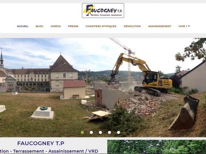 2019-10-28 NOUVEAU SITE TP FAUCOGNEY (70) Cubry Les Faverney entre Lure et Vesoul