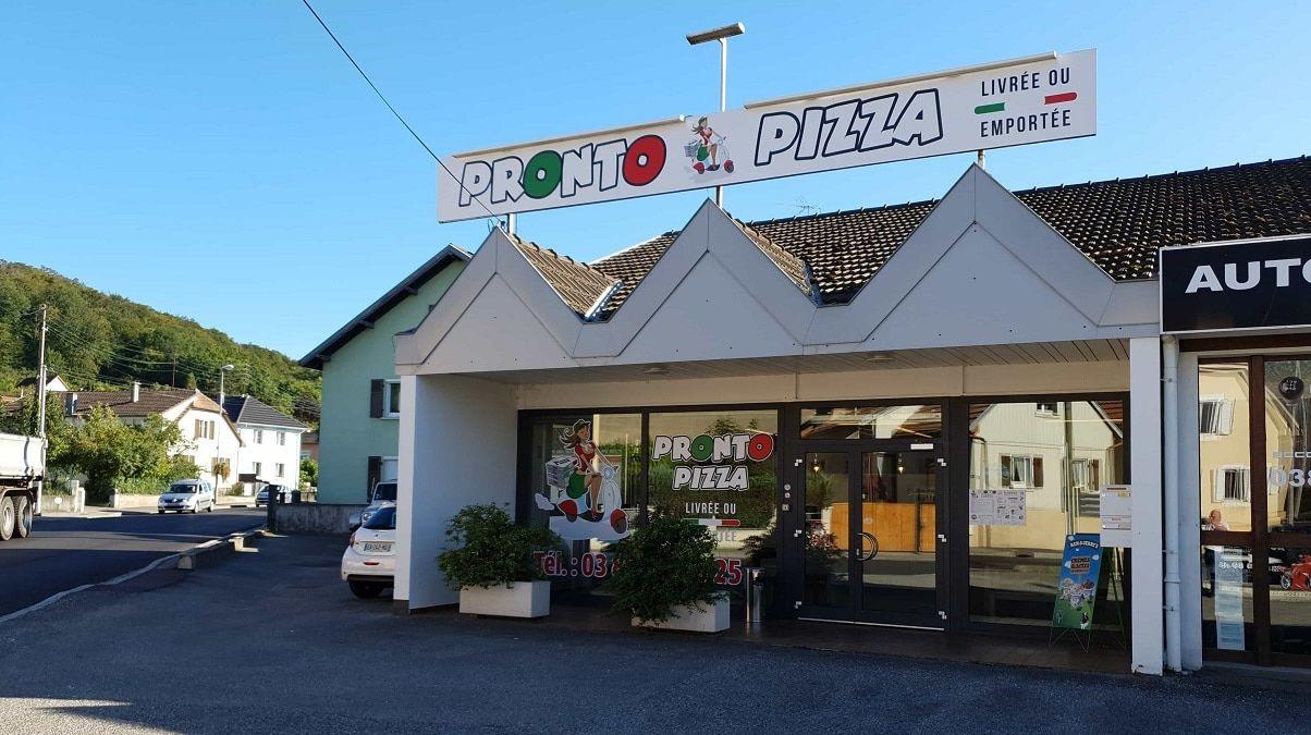 Création d'un nouveaau site Internet pour Pronto Pizza situé à (68) Illfurth entre Mulhouse, Brunstat et Altkirch
