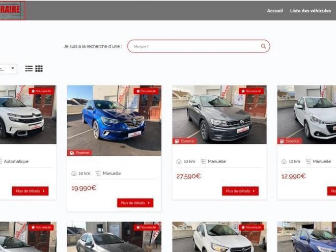 Nouveau site Internet pour ES Itinéraire, mandataire automobile, voiture neuf et occasion à prix cassé 68 Waldighoffen près d'Alkirch