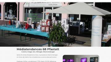 Nouveau site Internet pour Médiatendances 68120 Pfastatt