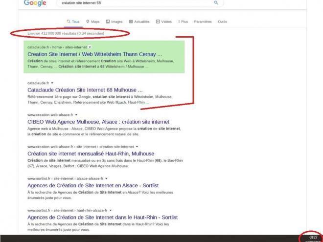 Un site web existe vraiment sur la toile que lorsqu'il est bien optimisé pour atteindre la 1ère page des moteurs de recherches. Aujourd'hui, lorsque l'on cherche une entreprise, on ne consulte plus les Pages Jaunes mais Internet. Augmentez votre visibilité sur le moteur principal de recherches Google