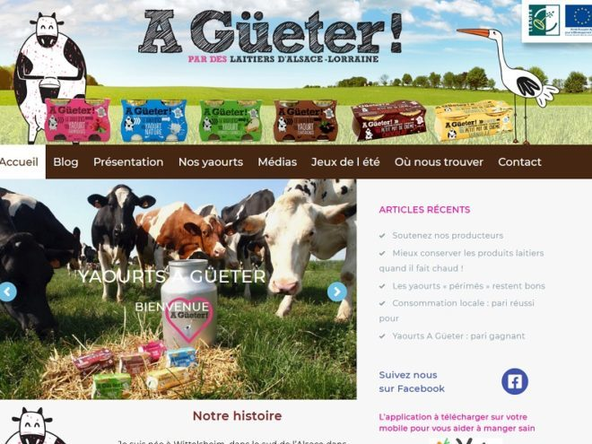 Producteur yaourts 68 Wittelsheim