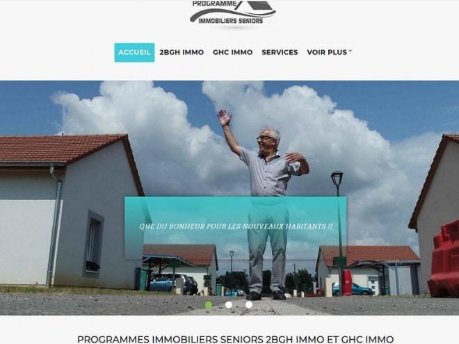 28 03 2020 Nouveau site Internet pour programme immobilier seniors avec service 68 Dannemarie