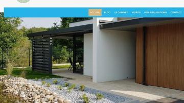 Nouveau site Internet pour Mickael Coiffier Architecte DPLG