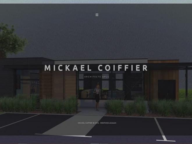 Création site Internet pour Mickael Coiffier Architecte à 68 Burnhaupt Le Bas