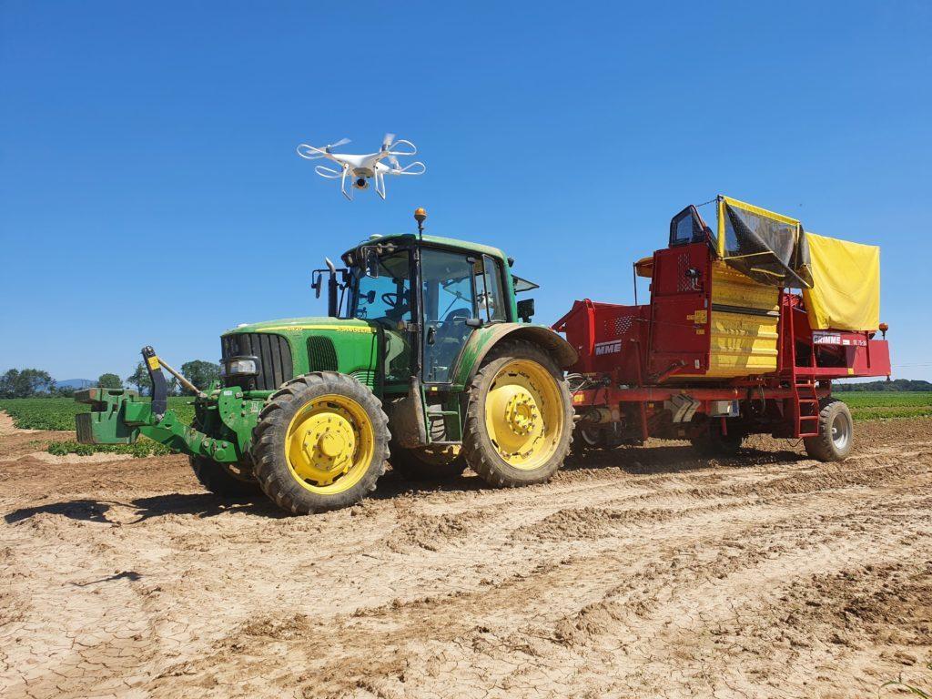 Vidéo de présentation à l'aide d'un drone pour la Ferme Reymann 68 Raedersheim