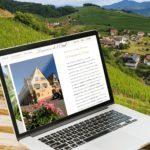 Création d'un nouveau site Internet pour le Domaine de L'Oriel