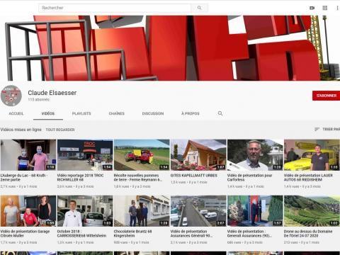 Cataclaude.fr : Création et référencement de site Internet Vidéo de présentation - Campagne SMS ciblée - Réseaux sociaux Mulhouse - Colmar - Selestat - Obernai - Molsheim - Belfort