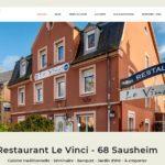 """23 10 2020 - Mise en ligne du nouveau site Internet vitrine pour """"Le Vinci"""""""