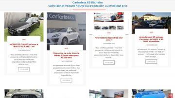 Nouveau Blog d'actualité pour Carforless Mandataire auto 68 Rixheim