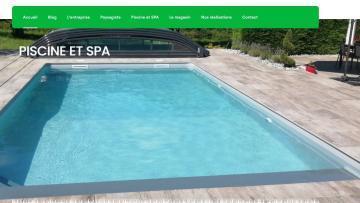 Création d'un nouveau site Internet pour Perrette paysagiste pisciniste