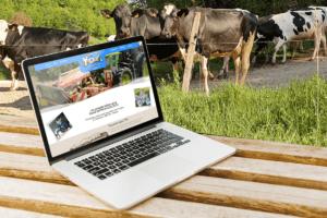Refonte complète du site Internet vitrine pour les yaourts de Sandrine (Earl Motsch Gollentz à 68 Osenbach entre mulhouse et Colmar (Haut-Rhin) Alsace