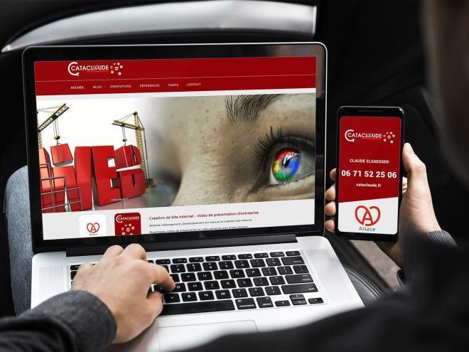Création de Site Internet - Vidéo de présentation d'entreprise - Référencement sites Internet 1ère page Google* - Mulhouse / Belfort / Colmar / Sélestat / Obernai / Strasbourg / Haguenau