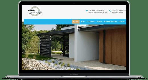 Architecte DPLG Coiffier © Création site Web Cataclaude