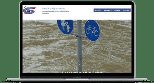 Assurances Solicaisse © Création site Web Cataclaude