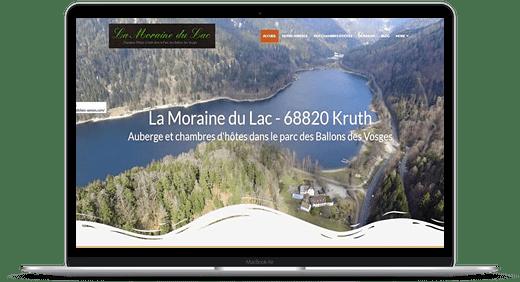Auberge du Lac Kruth © Création site Web Cataclaude