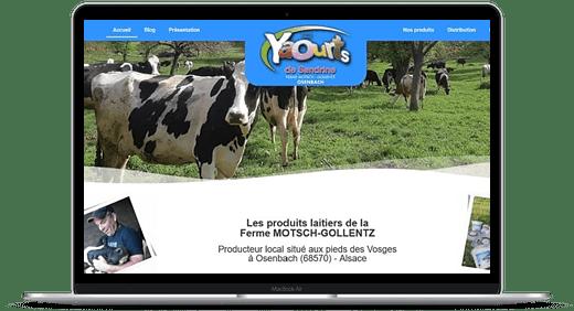 Ferme Motsch- Gollentz © Création site Web Cataclaude