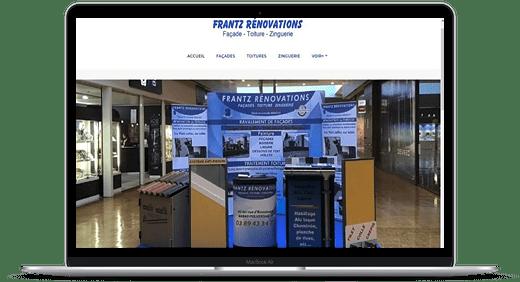 Frantz Rénovation © Création site Web Cataclaude