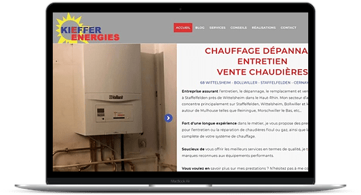 Kieffer Energies © Création site Web Cataclaude