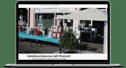 Médiatendances © Création site Web Cataclaude