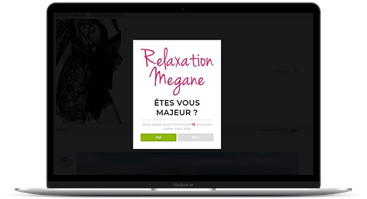 Relaxation Mégane © Création site Web Cataclaude