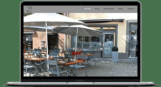 Restaurant Le 4 © Création site Web Cataclaude