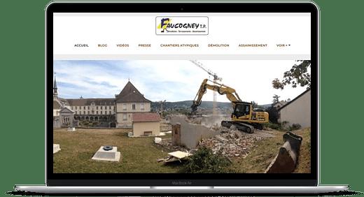 TP Faucogney © Création site Web Cataclaude