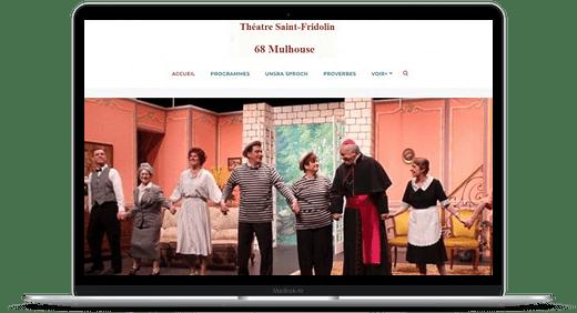 Théatre St Fridolin © Création site Web Cataclaude