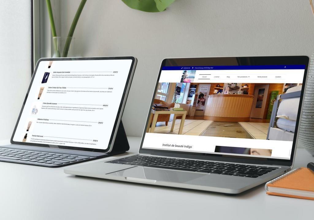 """Création site Internet, avec rajout d'une page complémentaire suite à contexte sanitaire et fermeture des commerces non essentiels """""""