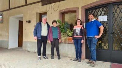 Un grand merci à mes clients Kress-Bleger-Vins d'Alsace pour avoir pris la décision de concrétiser le projet nouveau site Internet pour leurs chambres d'hôtes à 68 #rodern #alsace Sortie #selestat depuis l'A35 en venant de #colmar