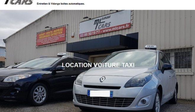 Création et mise en ligne d'un nouveau site Internet vitrine pour mon client Garage ML CARS situé à 68110 Illzach près de Mulhouse et spécialiste BMW & Mini, Entretien, vidange boite de vitesse toutes marques, location véhicules utilitaires type camionnette ainsi que des véhicules de taxi équipés d'un taximètre.